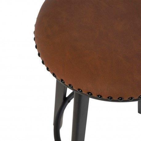 Taburete RUBY marrón