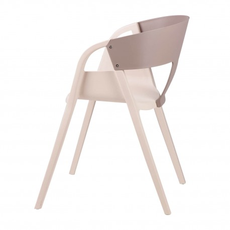 Silla WILLA gris dark