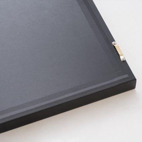 Cuadro TRIANGULOS negro 40x60