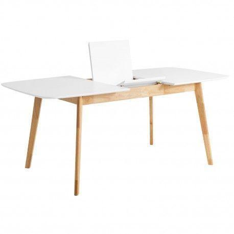 Mesa ext. ENMA 120 roble/blanco