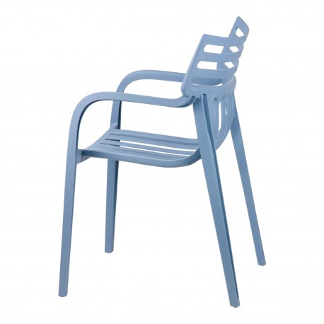 Silla RODIE azul light