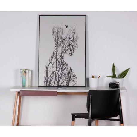 Cuadro PROFILE negro 60x80