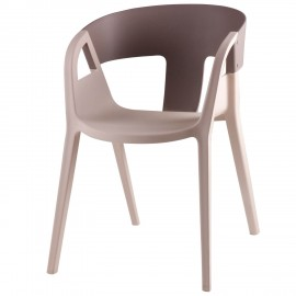 Silla WILLA gris light-gris dark
