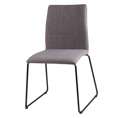 Silla MALINA gris light