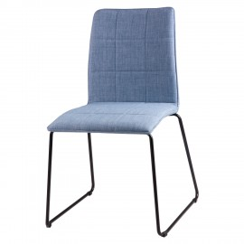Silla MALINA azul light