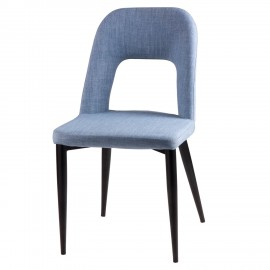 Silla ANIKA azul light