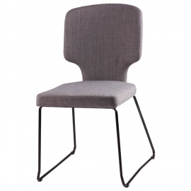 Silla DANA gris light
