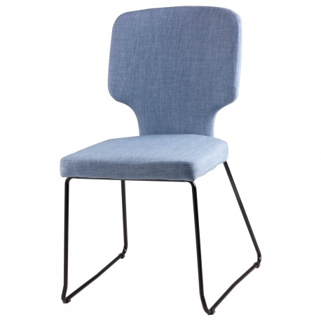 Silla DANA azul light