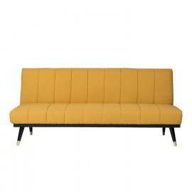 Sofá cama MADRID mostaza