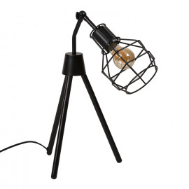 Lámpara de sobremesa NAVIA negro