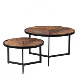 Set mesas centro KIAN madera