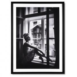 Cuadro WINDOW negro 60x80