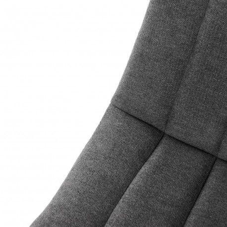 Silla XENA gris oscuro