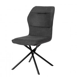 Silla CLEO gris oscuro