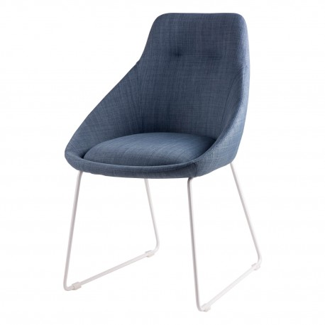 Silla ALBA azul light