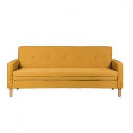 Sofá cama DELHI mostaza