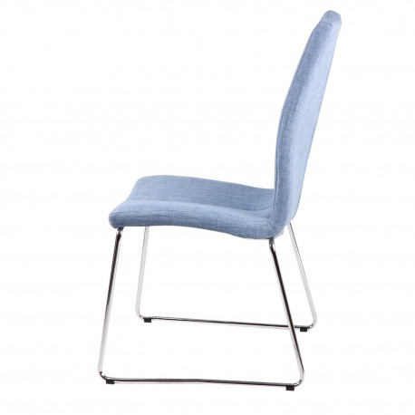 Silla AROA azul light