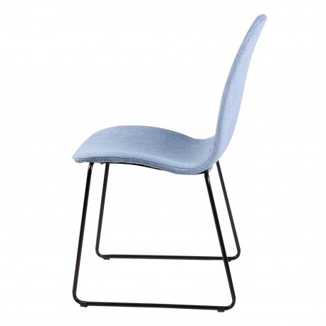Silla HELENA azul light