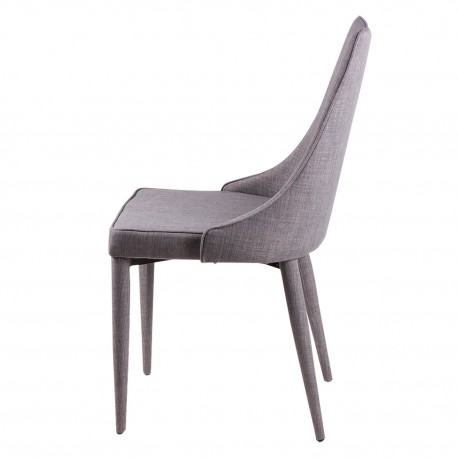 SILLA FLORA GRIS LIGHT