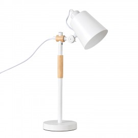 Lámpara sobremesa IRIA blanco