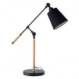 Lámpara sobremesa LIZAR negro